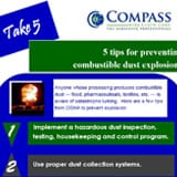 5 tips dust explosions