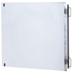 Doorframe-mounted barrier